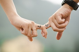 Love People Couple Fingers Hands Together Family